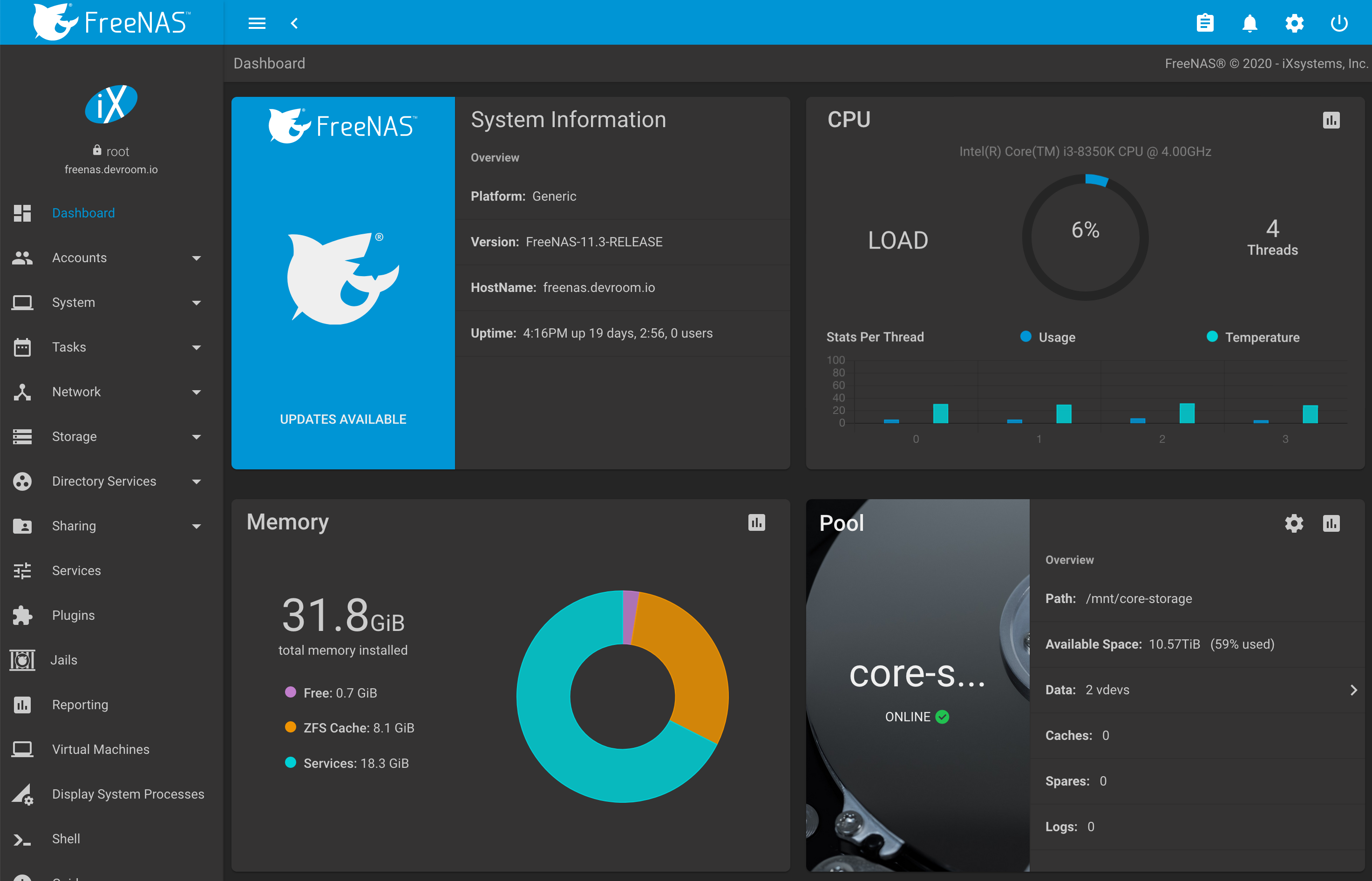 Building A Diy Home Server With Freenas Devroom Io