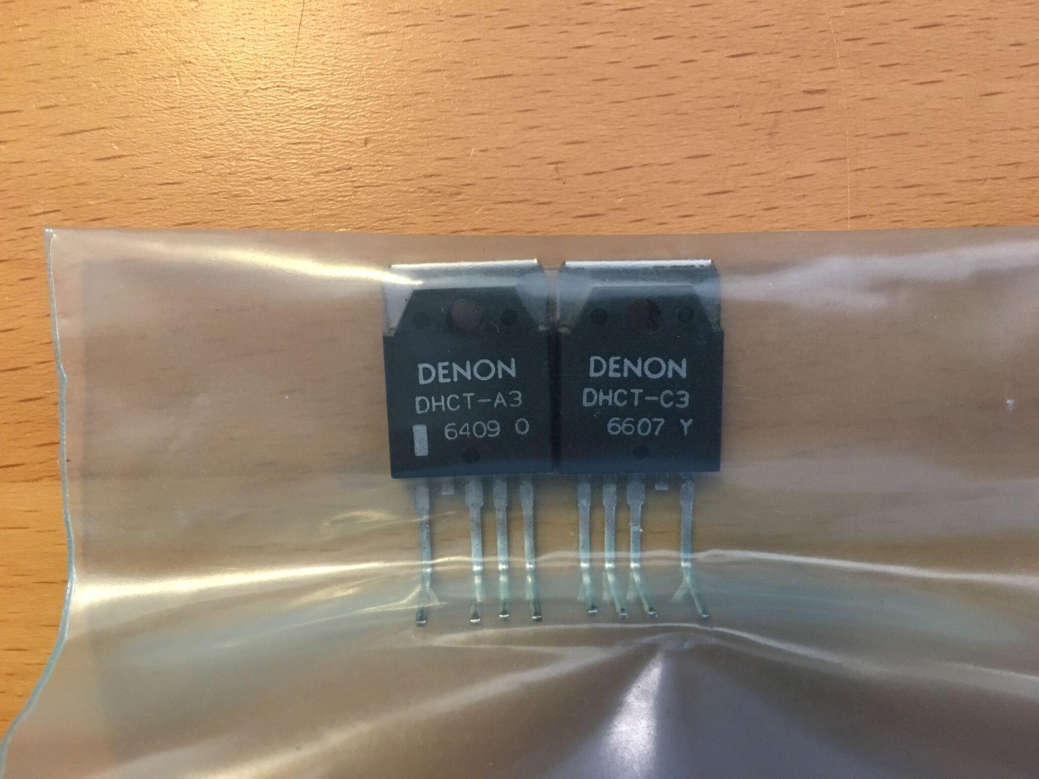 New darlington transistors
