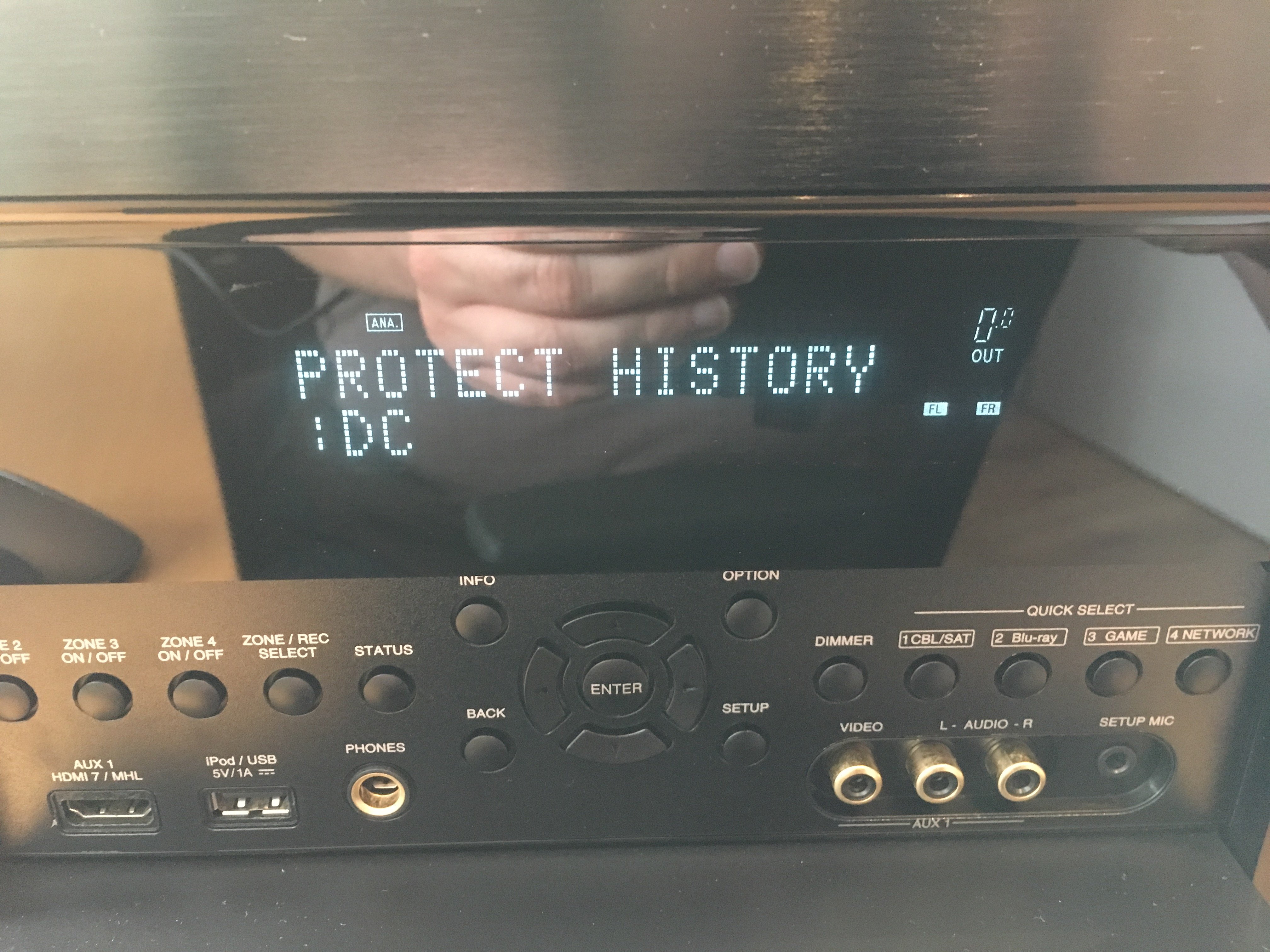 Repair: Denon AVR-4520 · Ariejan de Vroom