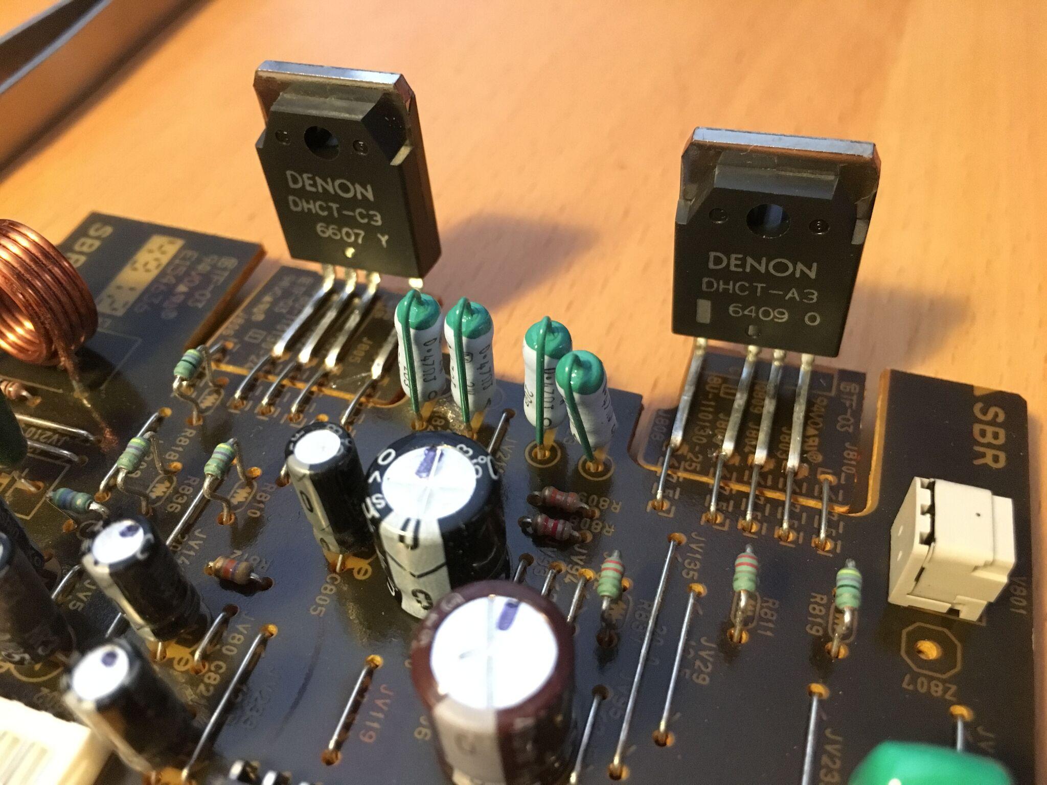 Shiny new Darlington transistors