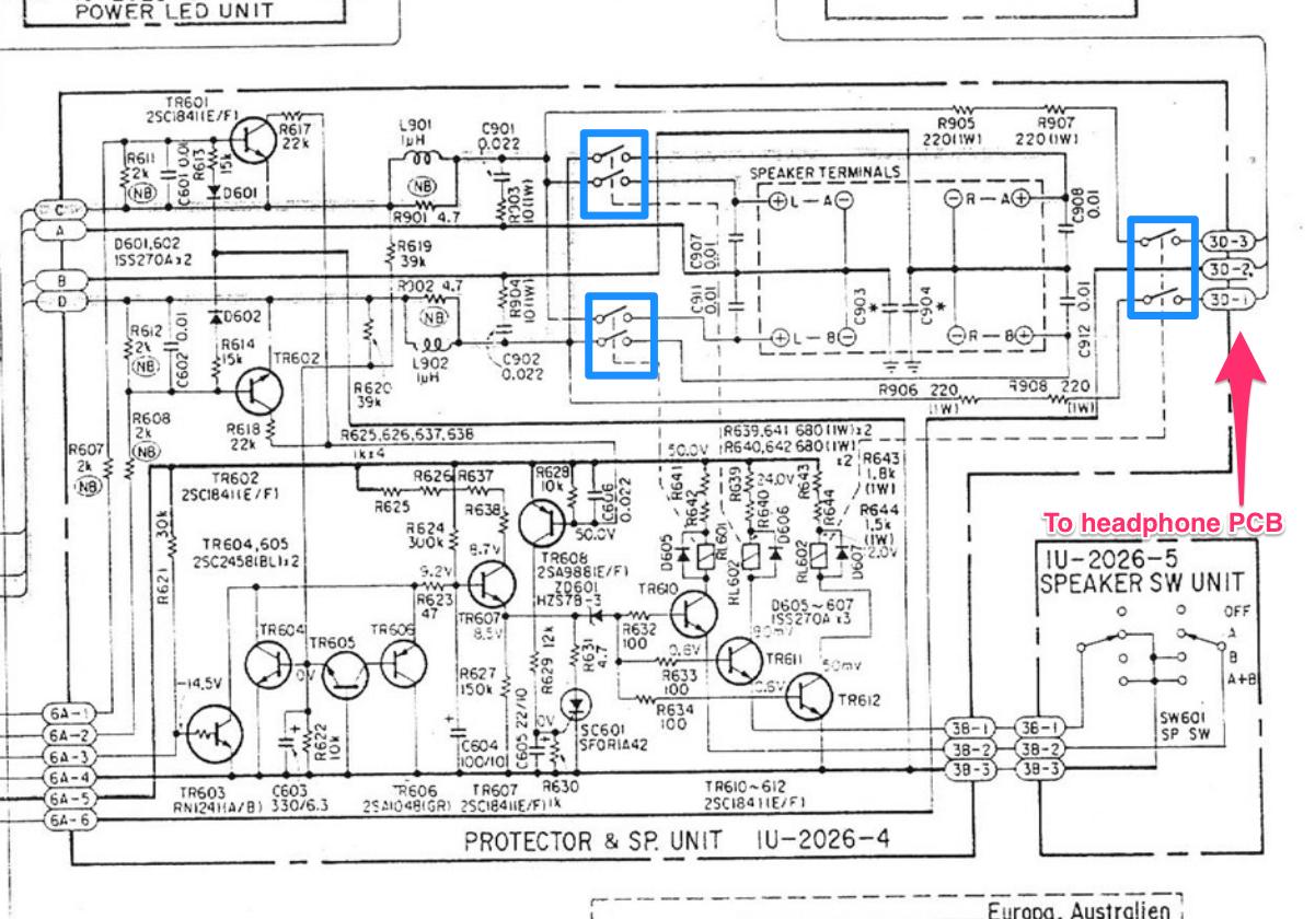 Denon PMA-560 Schematic