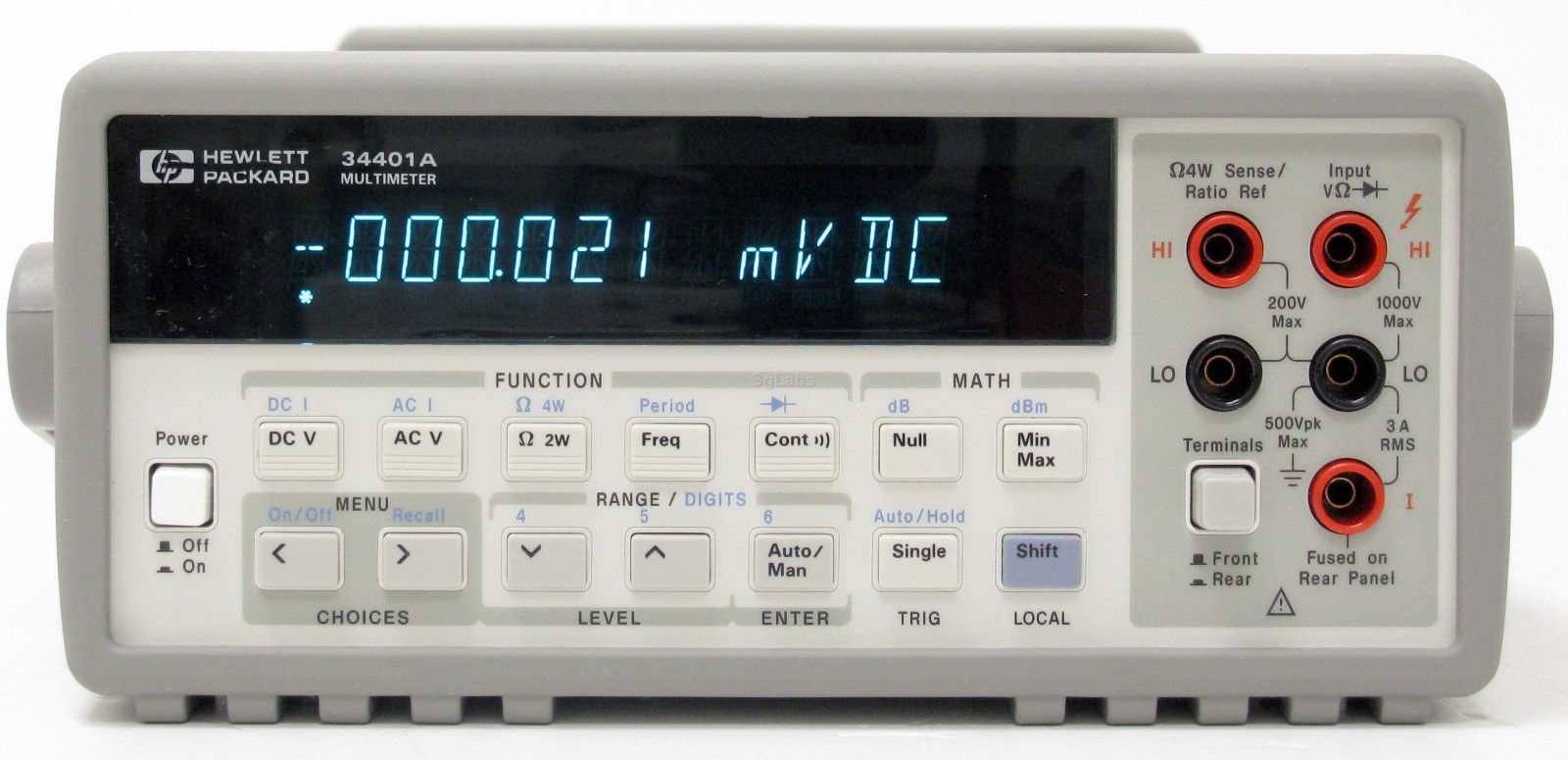 The HP 34401A Bench multimeter