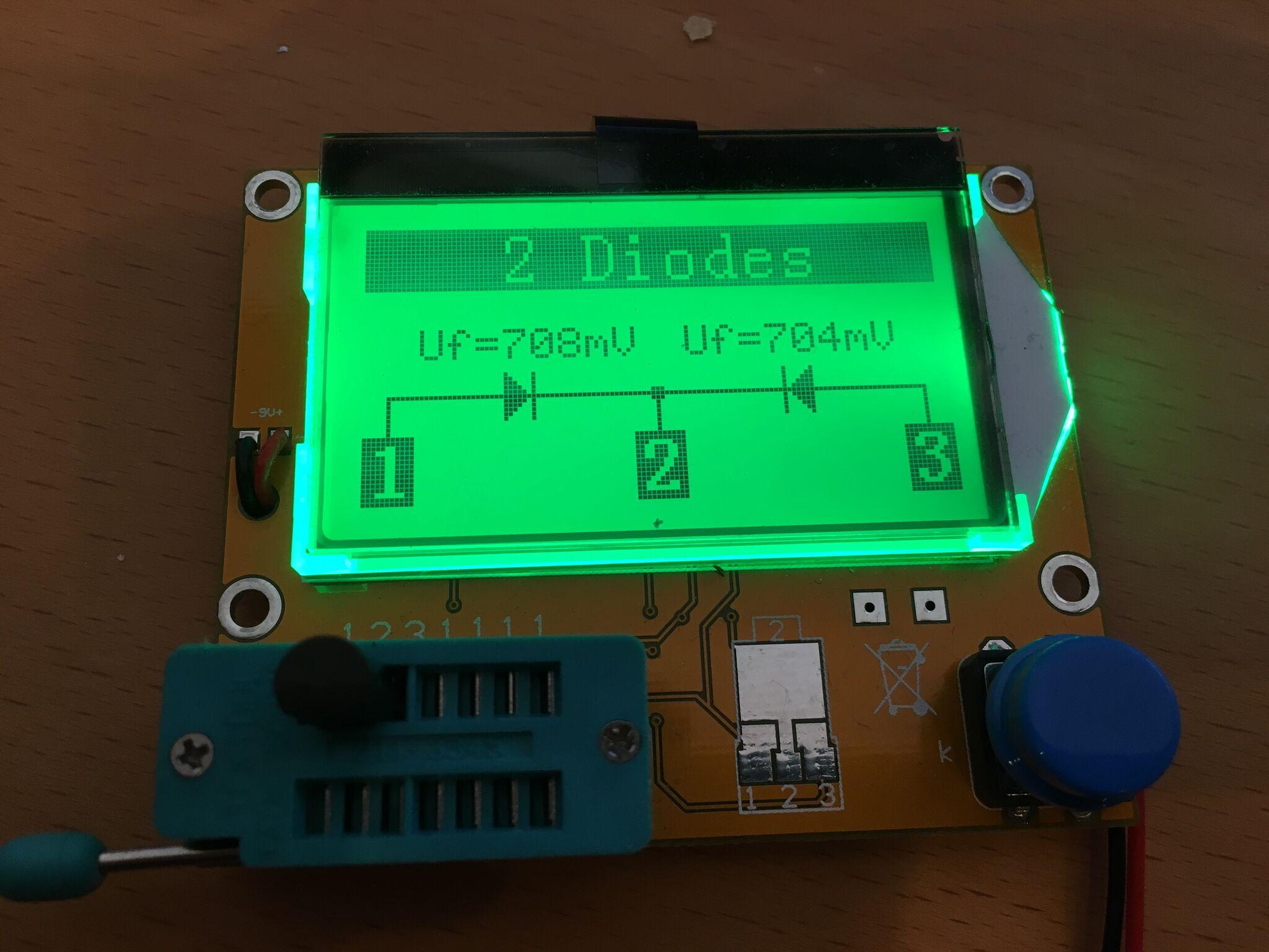 Defective NPN transistor 615