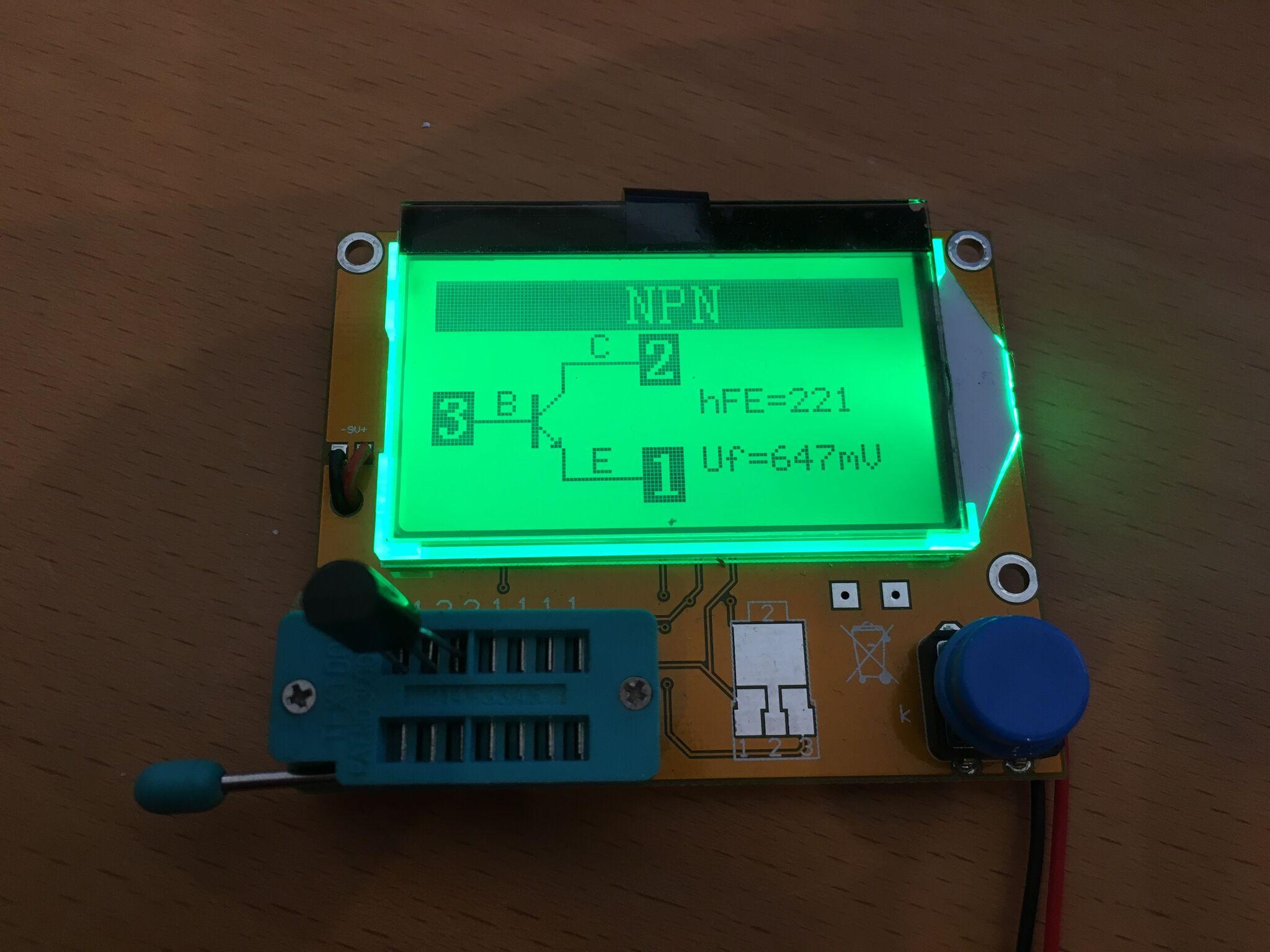 Replacemenet NPN transistor