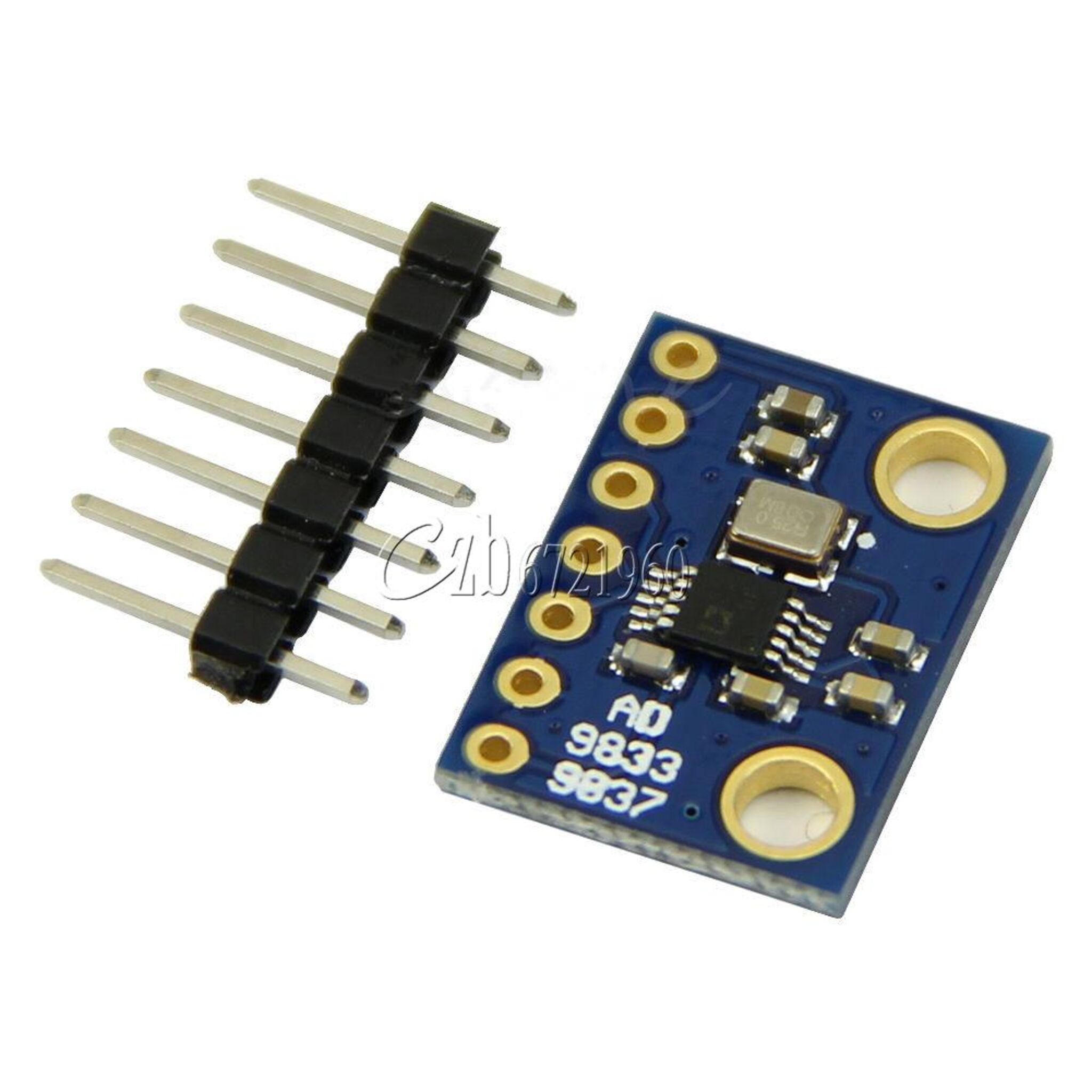 Ariejan De Vroom Signal 1 Diy Audio Generator Part Generators Projects Circuits 9 The Ad9833 Breakout Board
