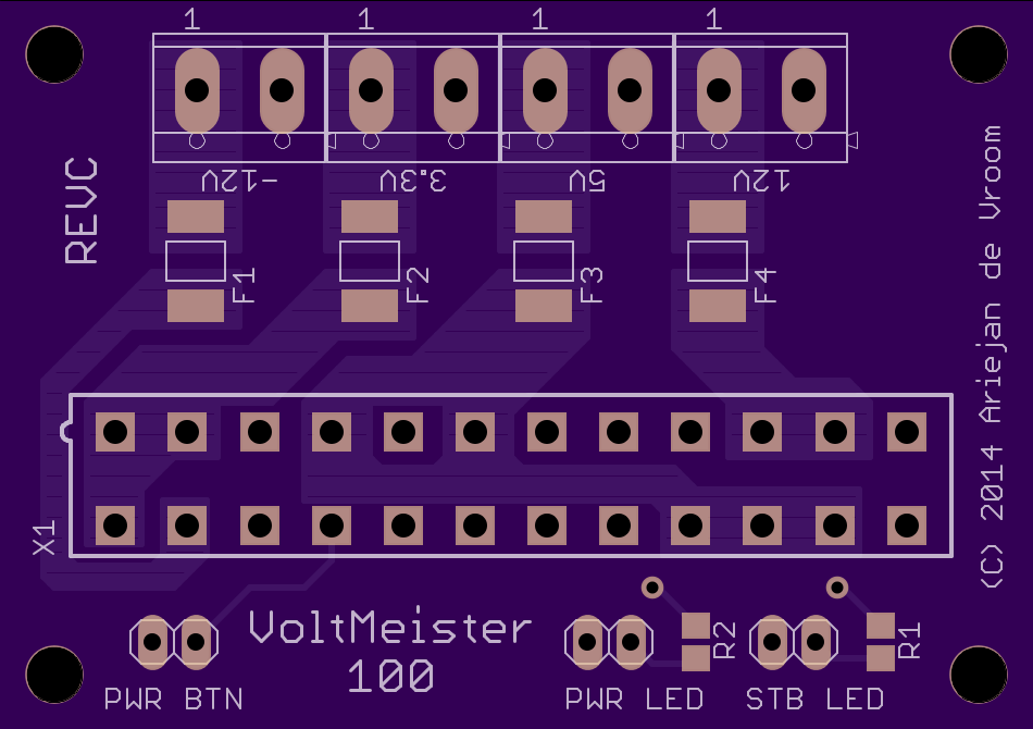 VoltMeister 100 PCB